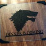 Glass Game Of Thrones Cutting Boards