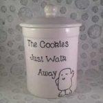 Handmade Doctor Who Cookie Jars