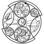 Gallifreyan Tattoo of Spinning Clockwise Quote