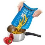 TARDIS Cutting Board
