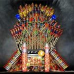 The Iron Throne Made Out Of Fireworks