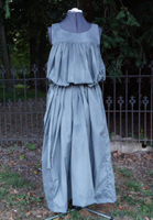 Dress for a weeping angel costume