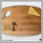 Wooden Doctor Who Cutting Boards