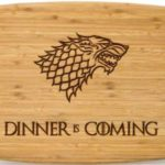 Wooden Game Of Thrones Cutting Boards
