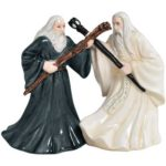 Gandalf and Saruman Salt & Pepper Shakers