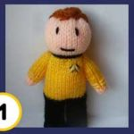 Star Trek Doll Knitting Patterns