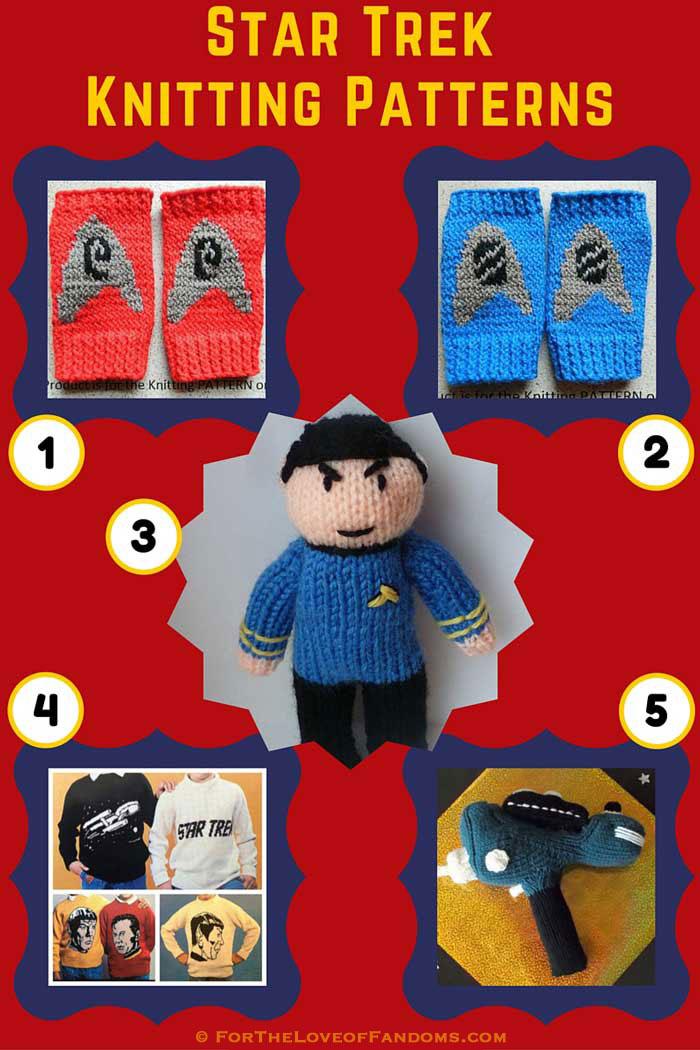 Star Trek Knitting Patterns For The Love Of Fandoms