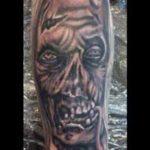 Head Of A Walker Tattoo
