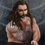 Thorin Oakenshield With Sleeve Tattoo