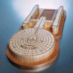 U.S.S. Enterprise Cutting Board
