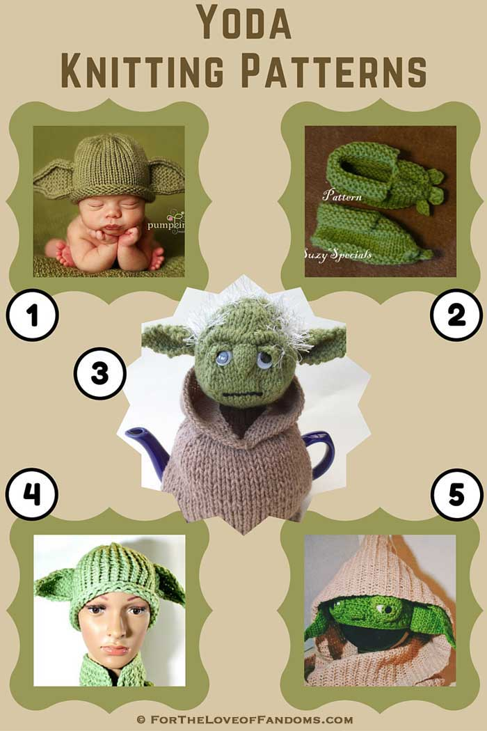Yoda Knitting Patterns • For The Love of Fandoms