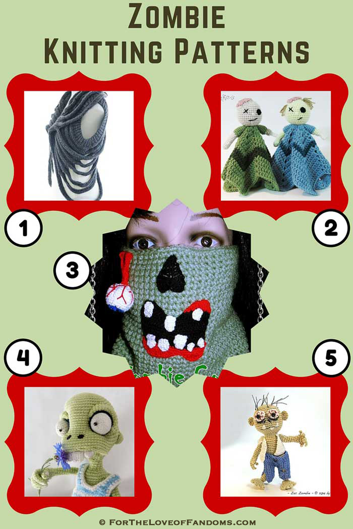 Zombie Knitting Pattern : Zombie knitting patterns for the love of fandoms